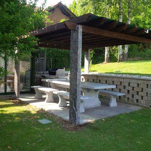 3Esse Graniti - Arredo giardino